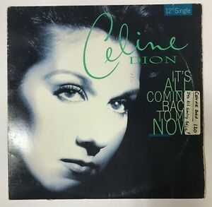 Celine Dion It S All Coming Back To Me Now 12 Rare Vinyl Ebay