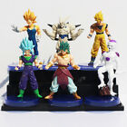 DRAGON BALL Z/ SET 6 PCS 13 CM SUPER SEIYA BROLY FREEZER - ANIME FIGURES 5""