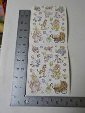 PROVO CRAFT BABY'S KEEPSAKES ANIMALS STICKERS SCRAPBOOKING A3204