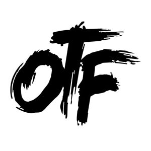 only the family otf vinyl decal sticker for cartruck