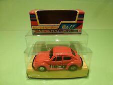 BANDAI DAPPER 15 VW VOLKSWAGEN BEETLE1303S - ORANGE RARE - NEAR MINT IN BOX