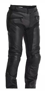 Halvarssons-Tengil-Mens-Leather-WaterProof-motorcycle-trousers-black-54-UK-36-034