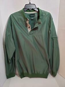 Mens-XL-Golf-Pull-Over-Jacket-Long-Sleeve-Catalina-Wind-Breaker