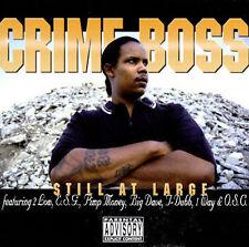 Crime Boss: Still at Large  Audio Cassette