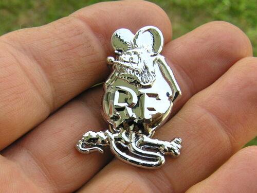UK ~ RATFINK LAPEL PIN BADGE Motorcycle Emblem *NEW /& UNIQUE!* Rat Fink Biker B