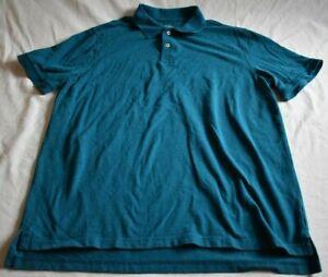 Merona-Men-039-s-Size-XL-Light-Blue-Polo-Short-Sleeve-Shirt-The-Ultimate-Polo-Classi