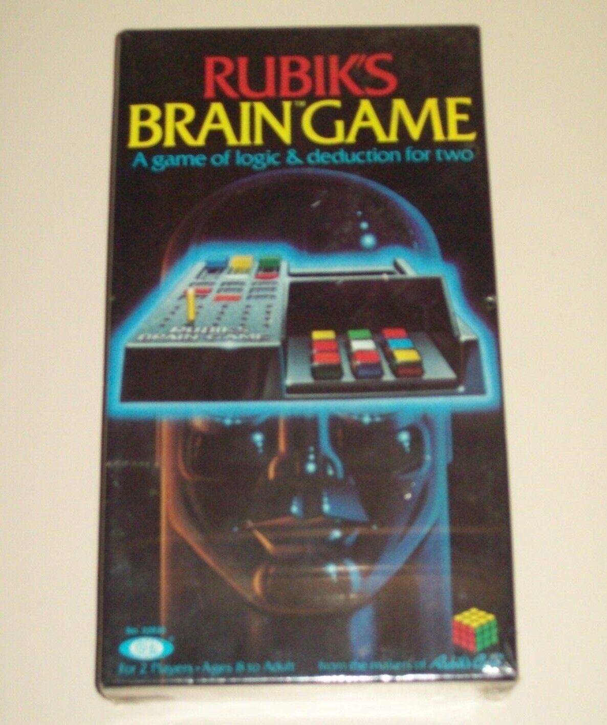 Vintage Rubik cerebro Juego-Ideal-logic & deducción-para 2 jugadores-Sellado