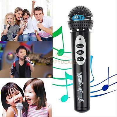 Girls Boys Microphone Toy Mic Karaoke Singing Kids Children Funny Music Toy Gift