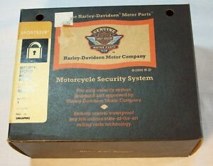 HARLEY-DAVIDSON-SECURITY-SYSTEM-NORTH-AMERICA-PART-NUMBER-68393-04