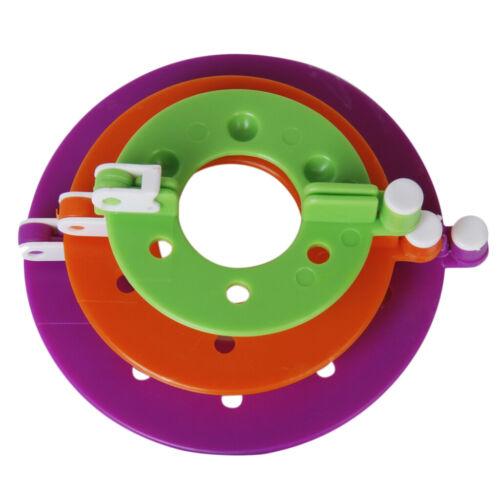 Zufällige Farbe 3 Größe 6pcs Bommel Bommel Maker Flusen Ball Weber