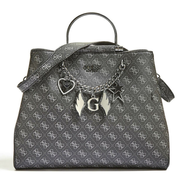 Guess À Bandoulière Affair Sac Shopper Coal