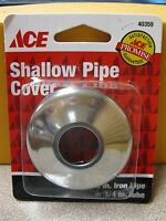 Ace Hardware Shallow Pipe Cover 40359 For 1/2 Pipe Or 3/4 Tube Free Ship