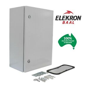Electrical Steel Enclosure Box Cabinet Switchboard 600(H)x400(W)x250(D) IP66