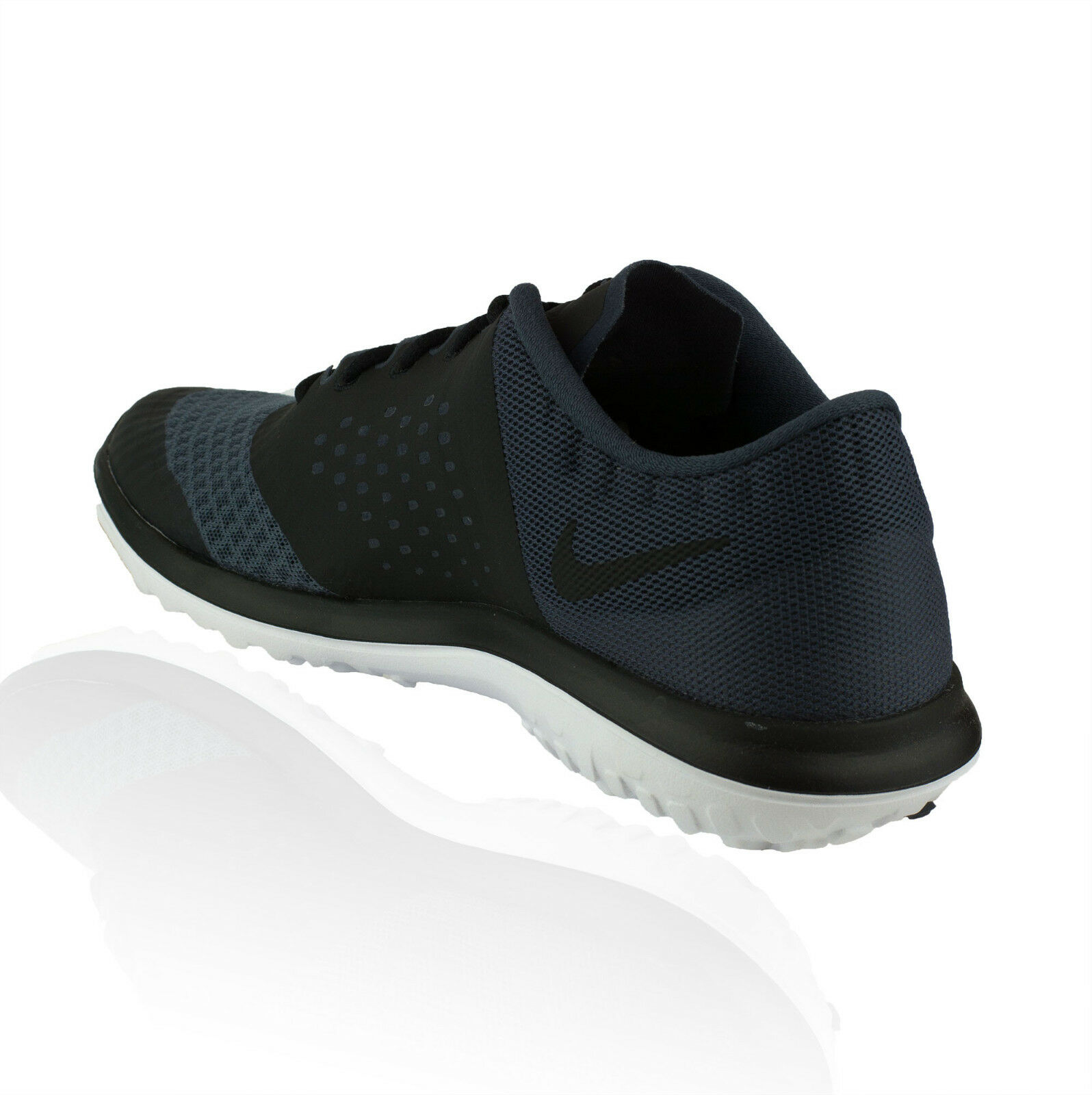 Nike Men's FS Lite Run 2 DarkMagnet Grey  Black-White
