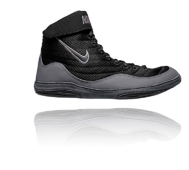 New Shoes Nike Inflict 3 Wrestling Shoes New 325256 003 Black size 8 1bcfcd