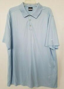 Acorazado celebracion costo  Nike Golf Polo camisa manga Dri FIT Logo Botón Azul Cielo Manga Corta Talla  XXL | eBay