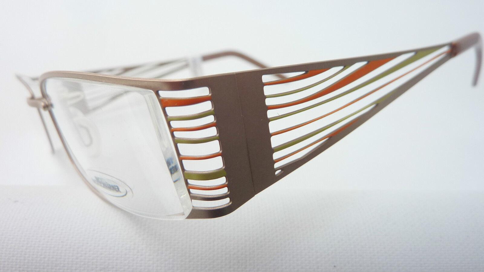 Augenoptik Damengestell Brillenfassung Breiter Bügel Naturfarben By Nachtschwärmer Grösse S