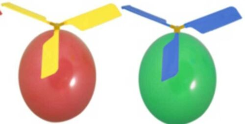 Balloon Helicopter Fly Fun Kids Party Bag Fillers Favours Children/'s Toy Gift