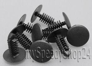 20x-Tannenbaum-Befestigung-Clips-Innenverkleidung-Klip-Universal-8mm-Kopf-18mm