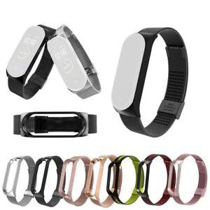 Cinturino-di-Ricambio-Bracciale-acciaio-inossidabile-Per-Xiaomi-Mi-Band-3-4