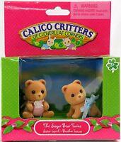 The Sugar Bear Twins - Calico Critters Cc1852
