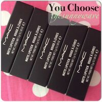 Mac Lipstick Limited Edition Sold Out Shades In Box Free Shipping Choose