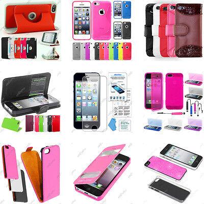 Accessoires Etui Coque Housse Pochette Film Protection Apple iPhone 5S 5