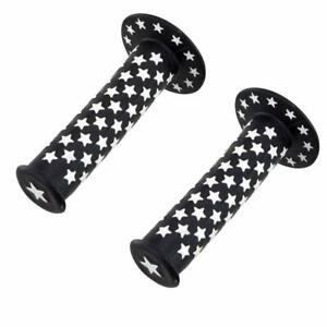 Bike Grips Red /& White Stars American Fits all Bicycles BMX Cruiser Fixie Kids