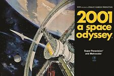 2001 A SPACE ODYSSEY vintage movie poster STANLEY KUBRICK SCI-FI 24X36 hot