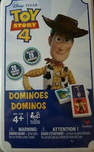 Disney-Toy-Story-4-Dominoes-In-Storage-Tin-by-Spin-Master-NEW-Set-of-28-Pieces