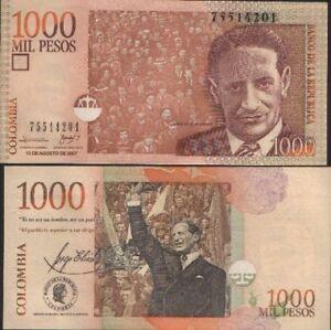 Colombia-1000-peso-2005-unc