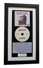 BRUNO MARS Unorthodox Jukebox CLASSIC CD Album QUALITY FRAMED+FAST GLOBAL SHIP