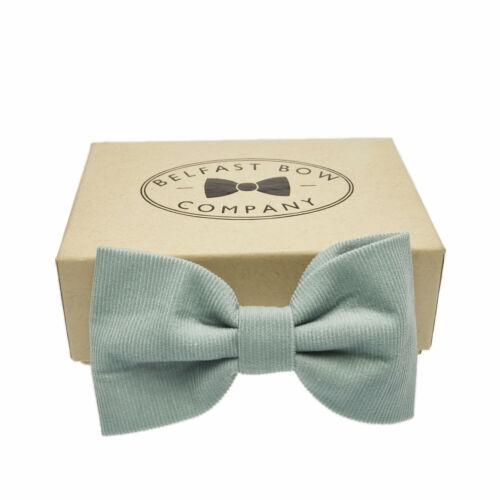 Needlecord nœud papillon bleu clair-Belfast Bow Company clearance