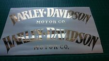 2 Tank Aufkleber Harley Davidson