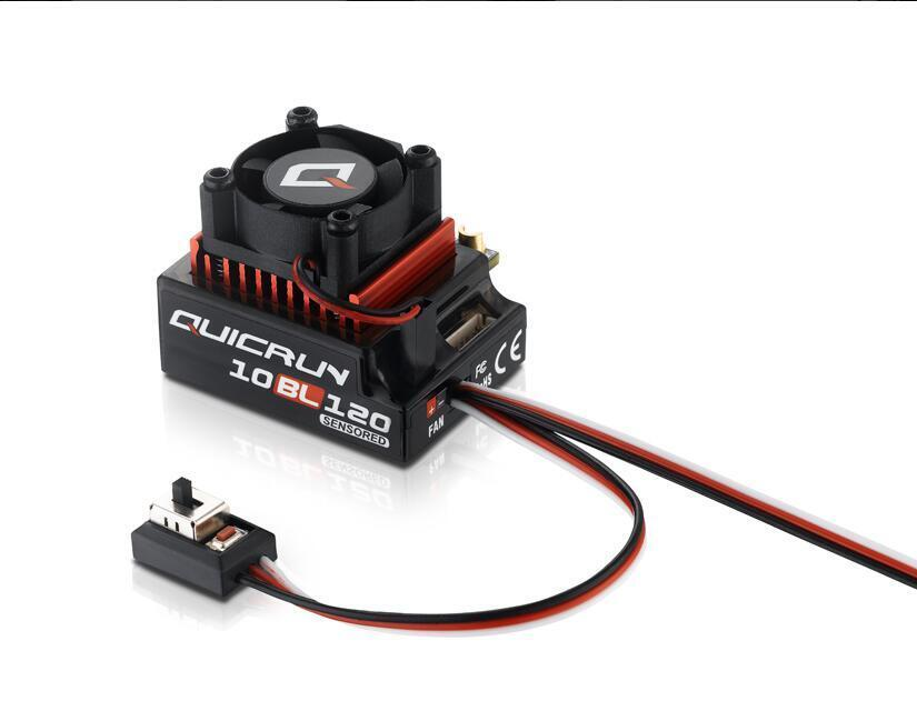 Hobbywing QuicRun 1:10 Brushless Sensorosso 120A ESC RC Cars Touring 10BL120
