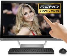 "HP All-in-One 24"" Full-HD TouchScreen 12GB Intel Core i5 3.00GHz 2TB Windows 10"