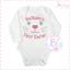 First Easter Gift Personalised Baby Vest//Bodysuit Babies Milestone,Long Sleeve