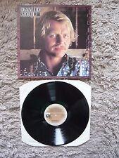 David Soul Self Titled 1976 Debut UK Pressing Private Stock Vinyl LP A2B1 EXC/NM