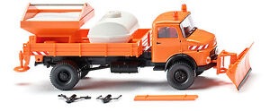 Wiking-Flatbed-Dumper-Winter-Service-064607-HO-Scale-suit-OO-also