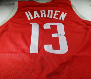 pretty nice ce235 44312 Details about JAMES HARDEN / 2018 NBA MVP / AUTOGRAPHED HOUSTON ROCKETS  CUSTOM JERSEY / COA