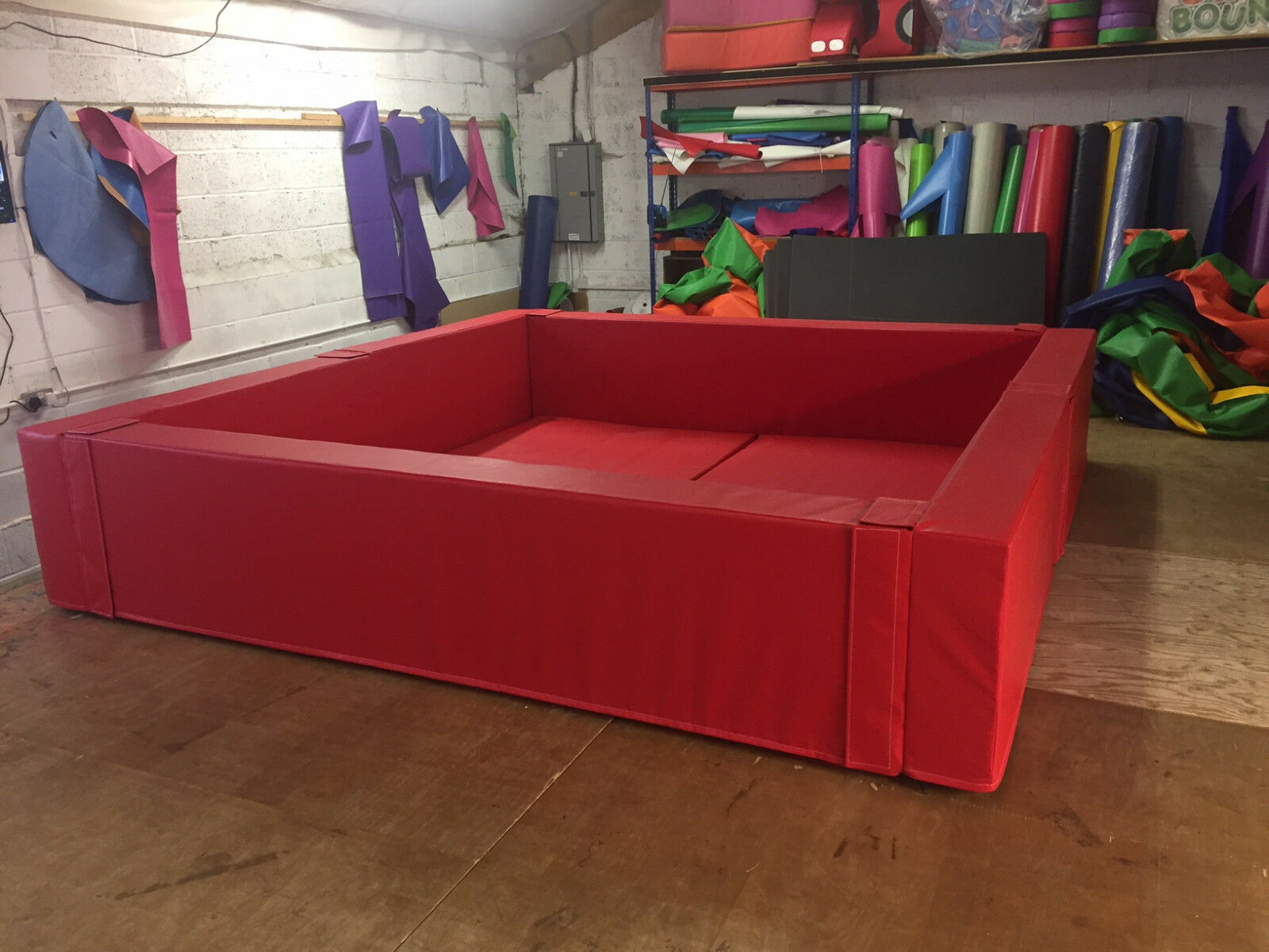 MADE TO ORDER Ball Pond  3 m x 3 m x  2ft x 8   Other SIZES MADE