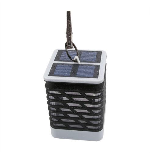 4Pack Solar Lanterns Dancing Flame Outdoor Hanging Lights Waterproof Auto Sensor