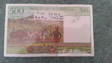 = 100 Ariary Madagascar 500 Francs P 75a Signature 4 ND 1994 UNC Low Shipping!