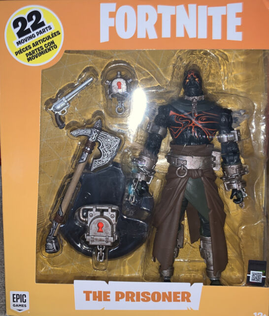 Prisoner Part 3 Fortnite Mcfarlane Toys Fortnite The Prisoner 7 Inch Action Figure Misb For Sale Online Ebay