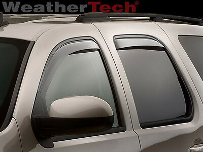 WeatherTech Side Window Deflectors - GMC Yukon XL - 2007-2014 - Light Tint