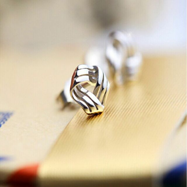 Wonderful Women Allergies Prevent Silver Plated Earrings Platinum Cloud Shape