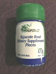 Alipotec Tejocote Root Dietary Supplement Pieces 0.25 oz Exp. 05/21 New/Sealed