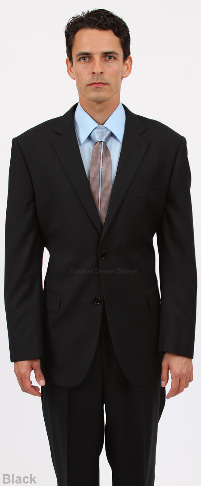 NEW TWO PIECE MEN'S HERRINGBONE SUIT FORMAL PROM MARINE CORPS BALL DANCE ATTIRE