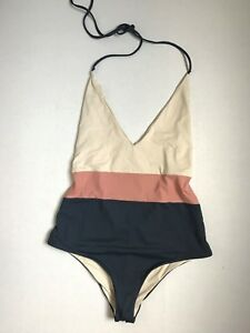 17766eefa7 Image is loading Tavik-Chase-Colorblock-One-Piece-Swimsuit-Madewell-G5228-
