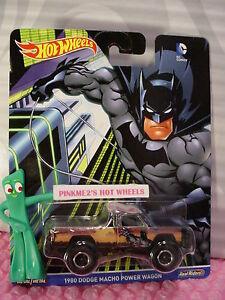 2016-DC-Comics-Hot-Wheels-Batman-1980-DODGE-MACHO-POWER-WAGON-Real-Riders-Pop